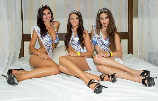 Vítězky Kristýna Danielová, Tereza Bohuslavová a Martina Ondrůšková