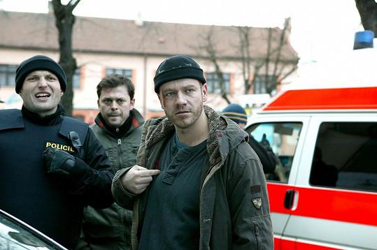 Filip Blažek v seriálu Policajti z centra