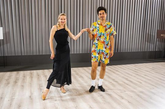 Tančit bude s Lenkou Norou Návorkovou.
