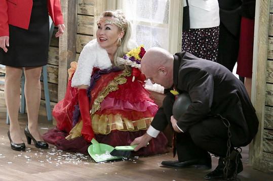 Kateřina Kaira Hrachovcová v roli Mileny