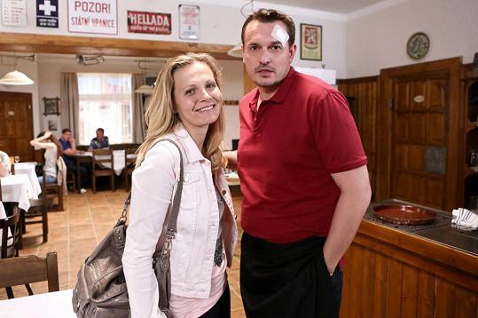 Badinková se potká s Petrem Štěpánem.