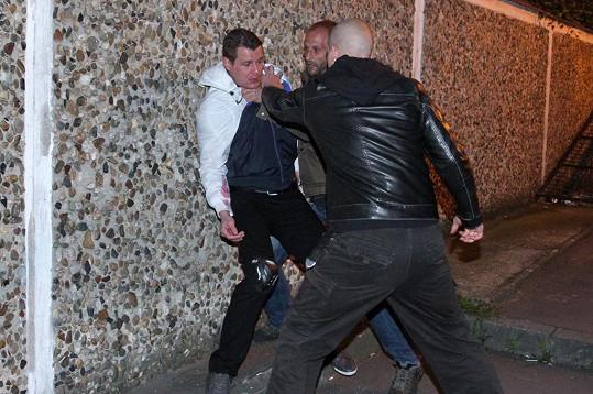Ondřej si prý natáčení rvačky kupodivu užil.