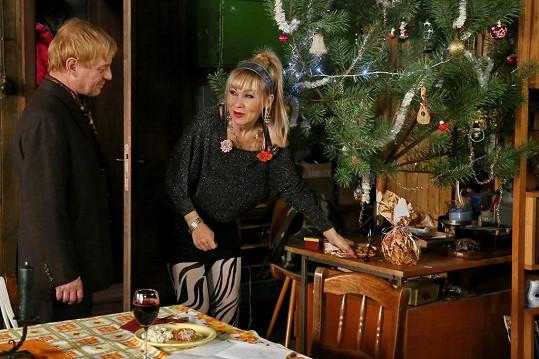 S Petrem Čtvrníčkem doma stromek měli, s manželem ho mít nemusejí.