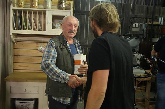 Oldřich Navrátil v Krejových nahradil Václava Postráneckého.