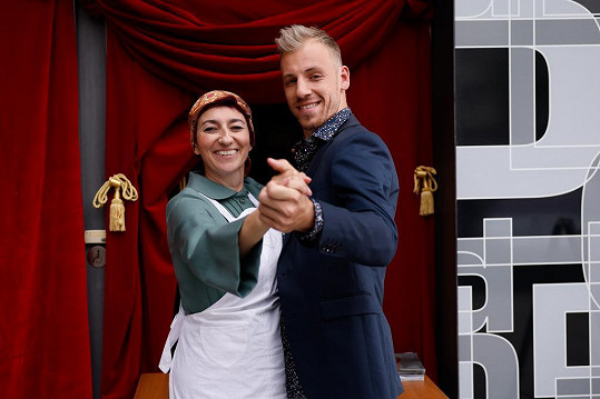 Simona Babčáková bude tančit s Martinem Prágrem.