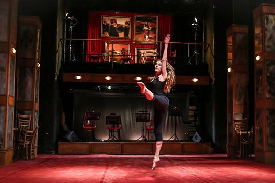 Henrieta Hornáčková si vzpomněla na dobu, kdy působila jako baletka.