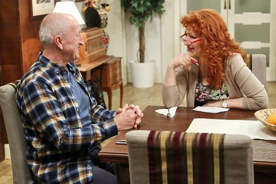 Teď se jako manželský pár sešli i v seriálu Krejzovi.