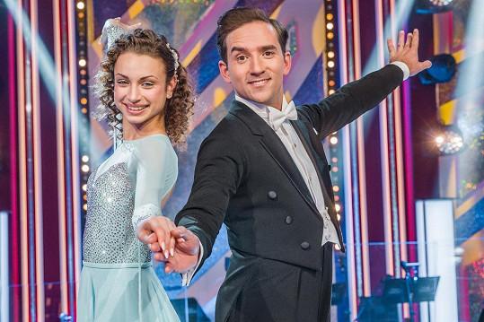 Matouš Ruml a jeho tanečnice Natálie Otáhalová patří mezi favority soutěže.