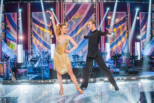 Gabriela Koukalová a Martin Prágr tančili ve druhém kole čaču.