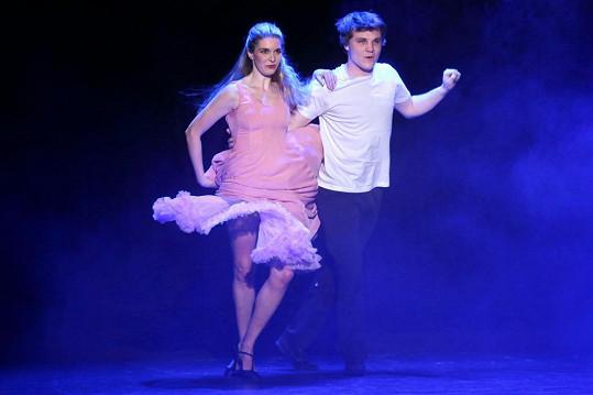 Henrieta si legendární taneční číslo střihla s Robertem Hájkem.