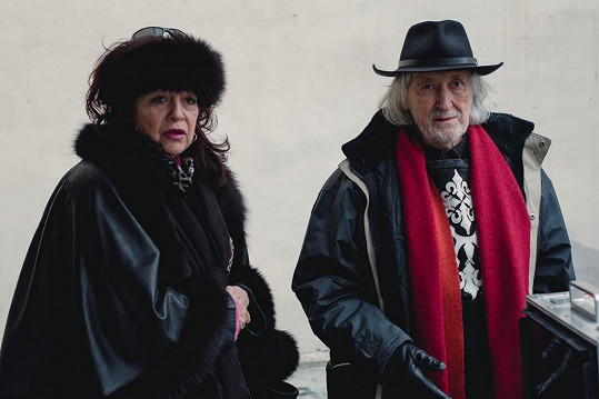 Juraj Jakubisko s manželkou Deanou