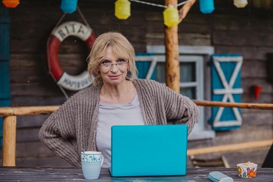 Ivana Chýlková si v novém seriálu zahraje spisovatelku.