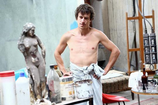 Martin Kraus se může pochlubit vysportovanou postavou. V nové rodinné show ztvární prince.