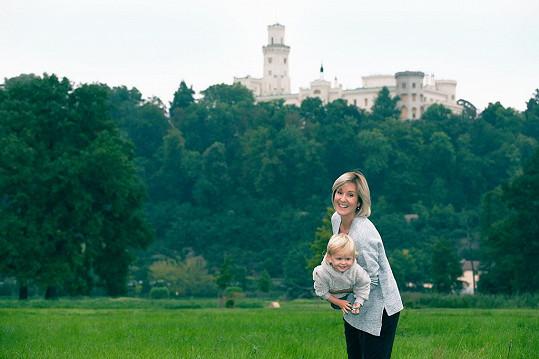 Relaxovali v Hluboké nad Vltavou. Rodiny s dětmi si tu přijdou na své.