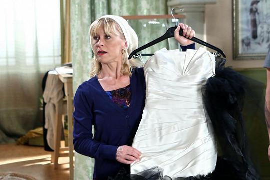 Dana Batulková se objeví v seriálu Svatby v Benátkách.