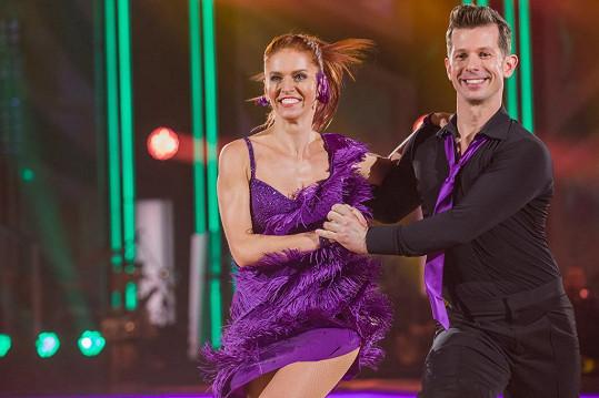 V soutěži předvedla divákům dva tance.