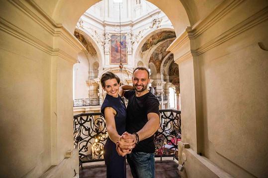Marek Dědík bude v letošní řadě StarDance tančit s farářkou Martinou Viktorií Kopeckou.
