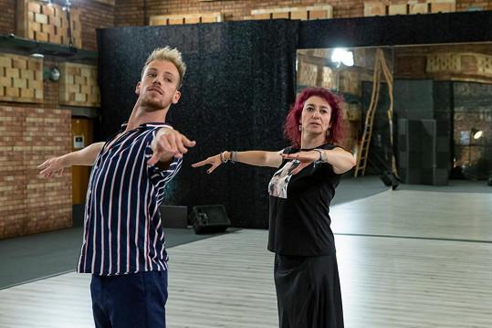 Své taneční dovednosti v sobotu předvede i Simona Babčáková.