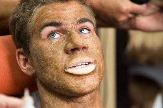 David Gránský v maskérně