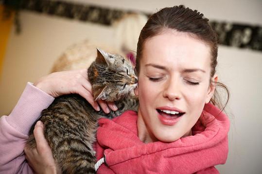 Andrea Kerestešová už si pořídila kočku jménem Grace.