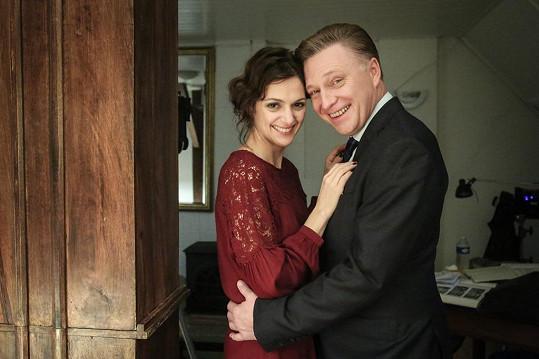 Klára Issová si po boku Michala Dlouhého zahraje v detektivce Kapitán Exner.