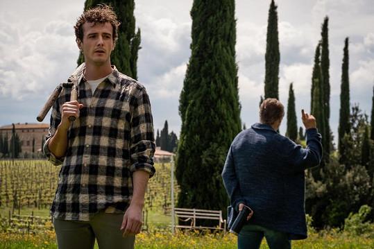Ve filmu Vzpomínky na Itálii hrají otce se synem.