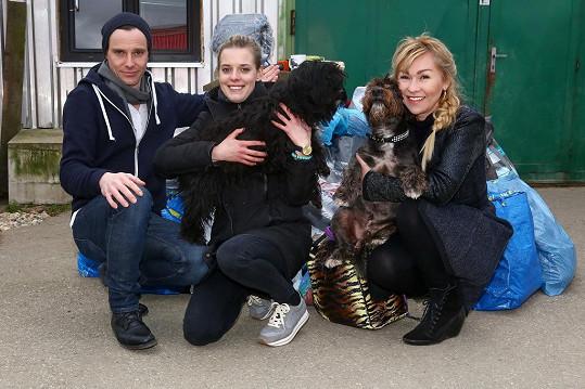 Herci z Přístavu pomohli psímu útulku.