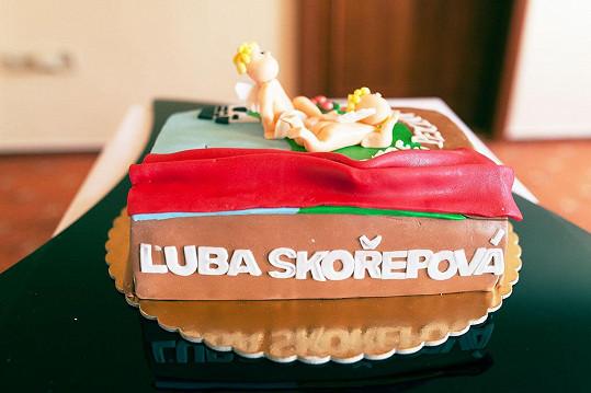Paní Luba si svou oslavu náležitě užila.