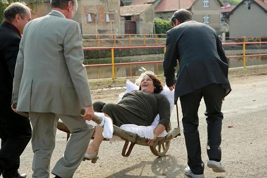 I na únos nevěsty došlo.