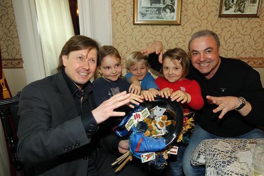 S kouzelníkem Pavlem Kožíškem
