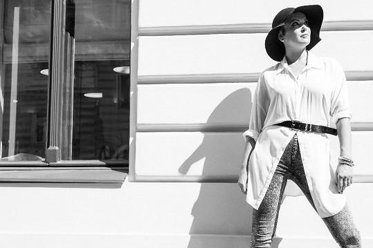 Daniela Révai je reportérkou pořadu New Look.