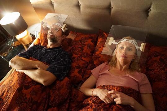 S manželkou Zitou Morávkovou nyní natáčí Lásku v časech korony.
