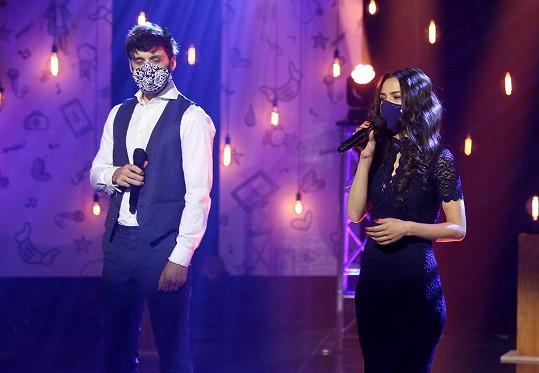 Roman a Eva na charitativním koncertu Vlna naděje