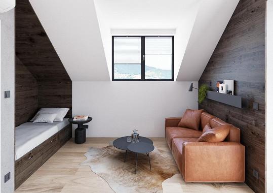 Promítl se do celého interiéru včetně pokojů pro hosty.