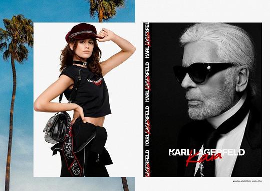 Pro propagaci svých modelů si ji vybral i Karl Lagerfeld.