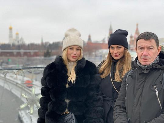 Karolína si pobyt v Moskvě maximálně užila.