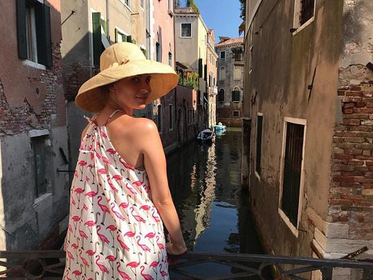 Betka letos navštívila také Benátky.