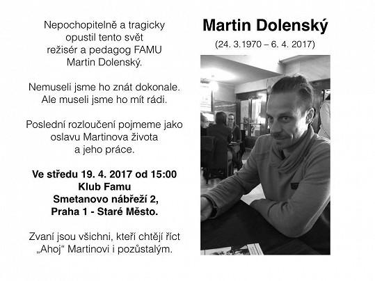 Parte Martina Dolenského