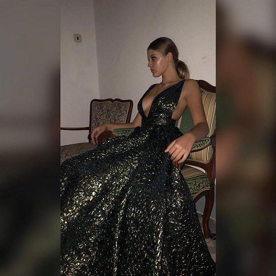 Natálie Jirásková opět v roli modelky