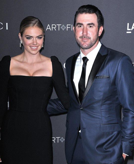 Kate Upton s manželem Justinem Verlanderem