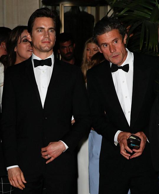 Matt a Simon společně vychovávají tři děti.