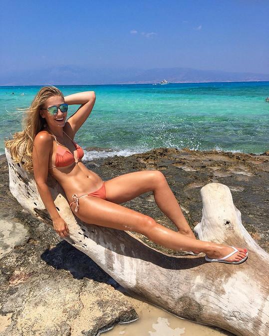 Česká Miss Earth k moři v zimě neodletěla. Takto jí to slušelo v září, kdy navštívila Turecko.