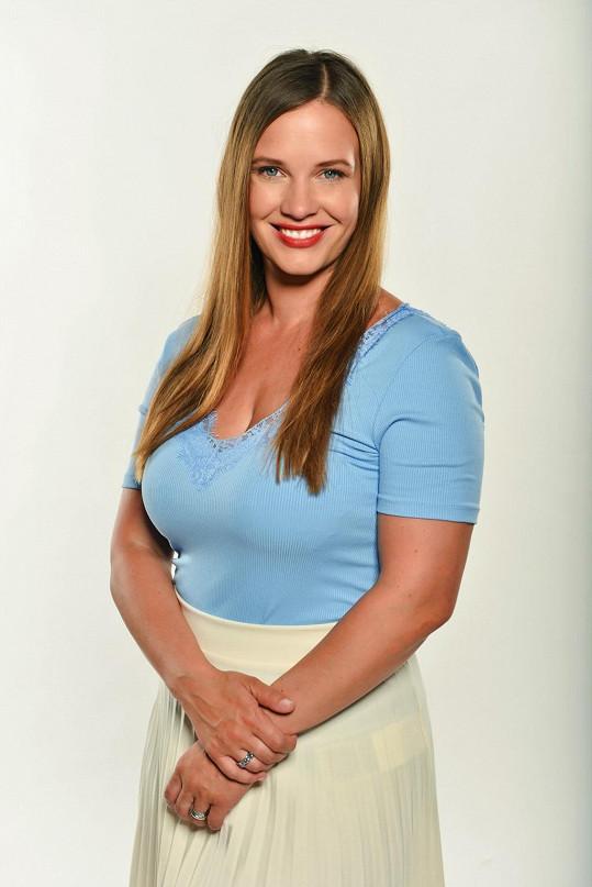 Kristýna Leichtová si zahraje v novém seriálu Primy 1. MISE.