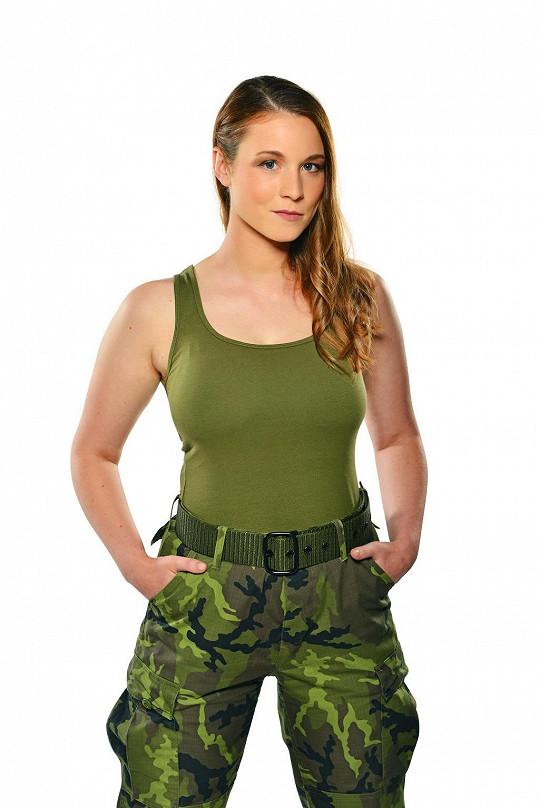 Annette Nesvadbová si zahraje v seriálu 1. Mise.