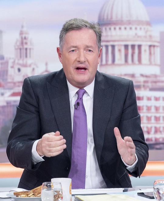 Piers Morgan se tvrdě pustil do Harryho s Meghan.