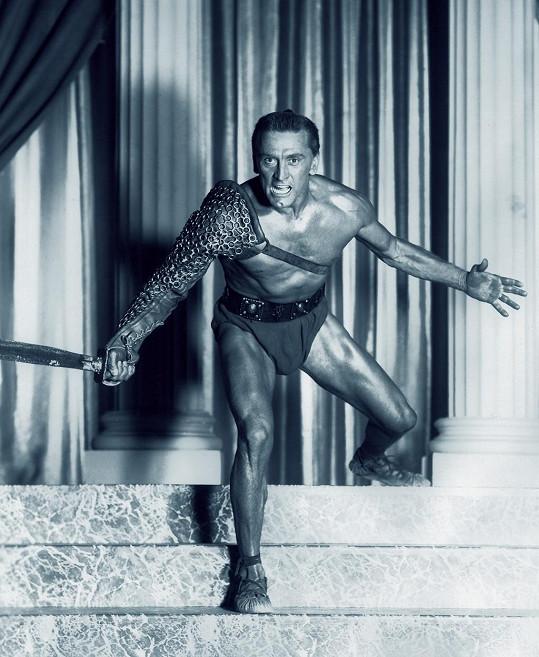 Kirk Douglas jako Spartacus (1960)