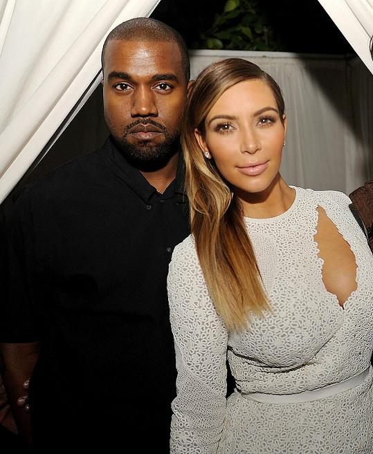 Kim a Kanye prý očekávají druhého potomka.