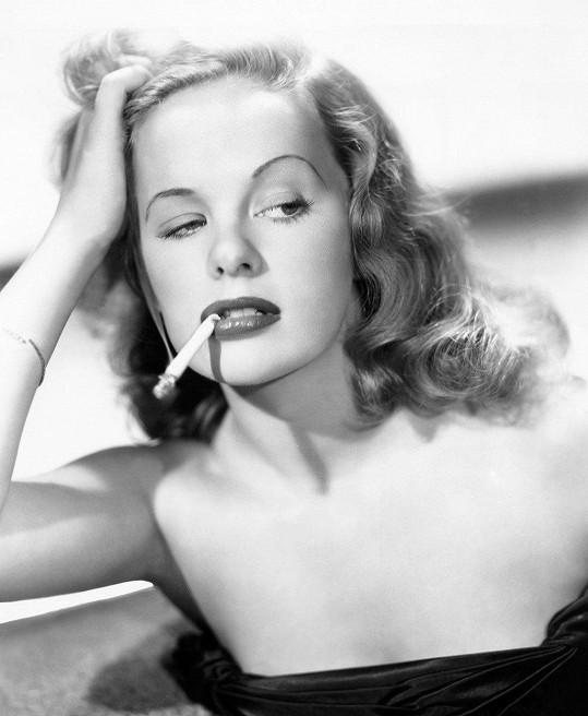 Peggy Cummins ve svém nejslavnějším filmu Gun Crazy (1950)