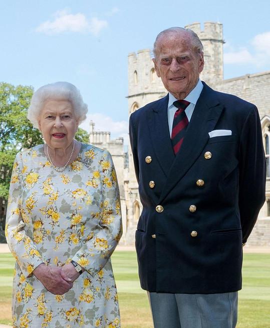 """Byl královninou """"skálou"""" celých 73 let."""