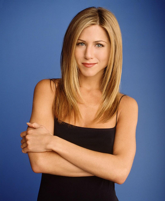 Jennifer jako Rachel z Přátel